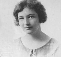 Helen Lewis about age 13