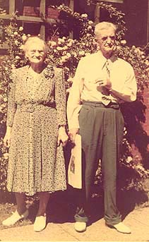Rose Rivard and Alfred Trombly in early 1940's