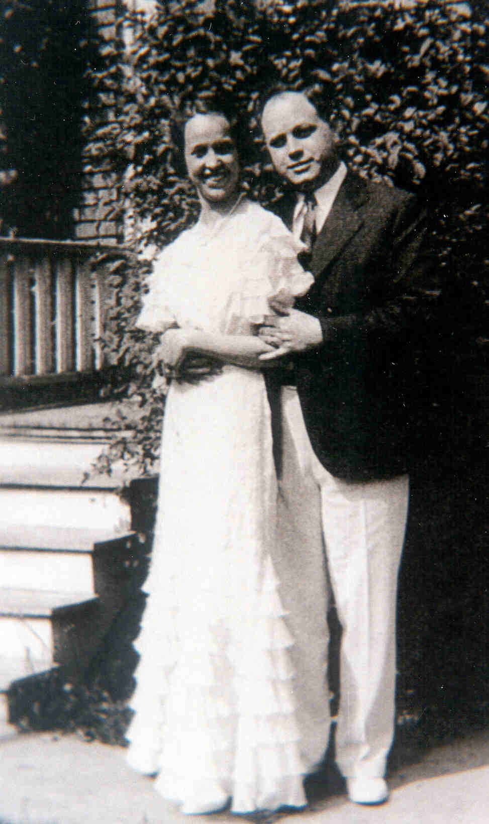 Royal Gibson, Elsie Fuller wedding 1934
