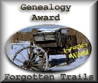 Forgotten Trails Award
