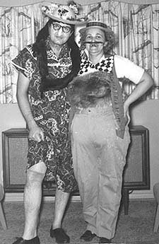 Wally and Rosie, Halloween 1960, 