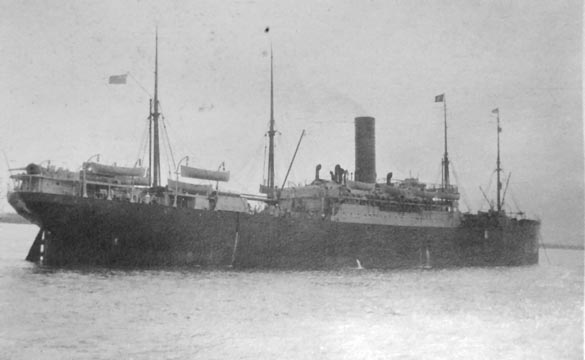 World War I Ship